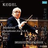 ベートーヴェン: 序曲「エグモント」、交響曲第6番「田園」、交響曲第5番「運命」 他 (Beethoven : Symphony No.5 & 6 / Kegel & Dresdner Philharmonie) [2HQCD] [日本語解説付]