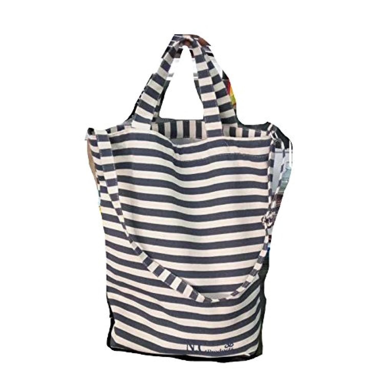 n.c製品セーラーストライプトートカジュアルデイリーキャンバスバッグ