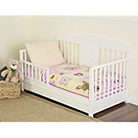Dream On Me 4 Piece Toddler Beddingセット、Naptime Friends