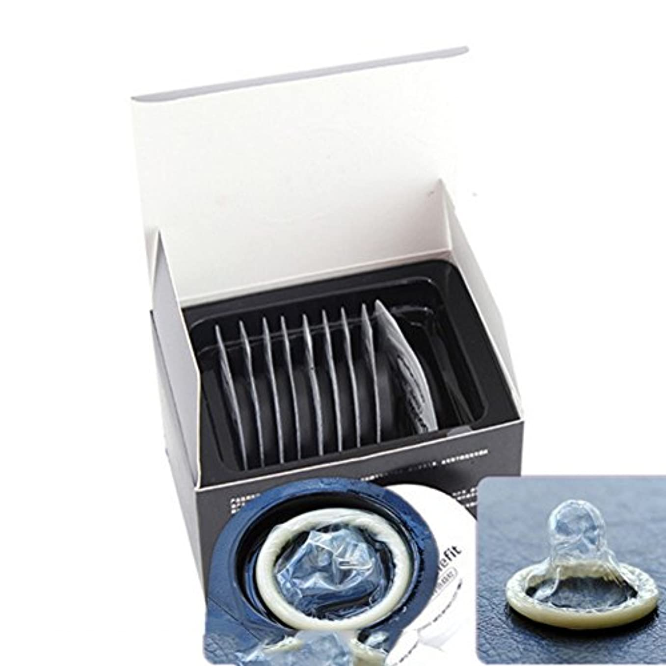 スキンレススキンコンドーム - 最も薄いラテックスコンドーム(10個入り)
