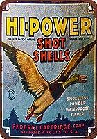 Hi-Power Shotgun Shells ティンサイン ポスター ン サイン プレート ブリキ看板 ホーム バーために