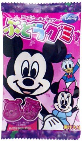 モントワール ディズニー ぶどうグミ 13g×10個