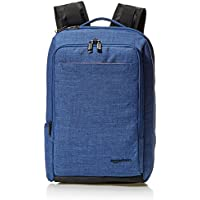AmazonBasics Slim Carry On Backpack, Blue
