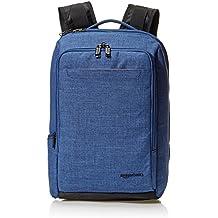 AmazonBasics Slim Carry On Backpack, Blue