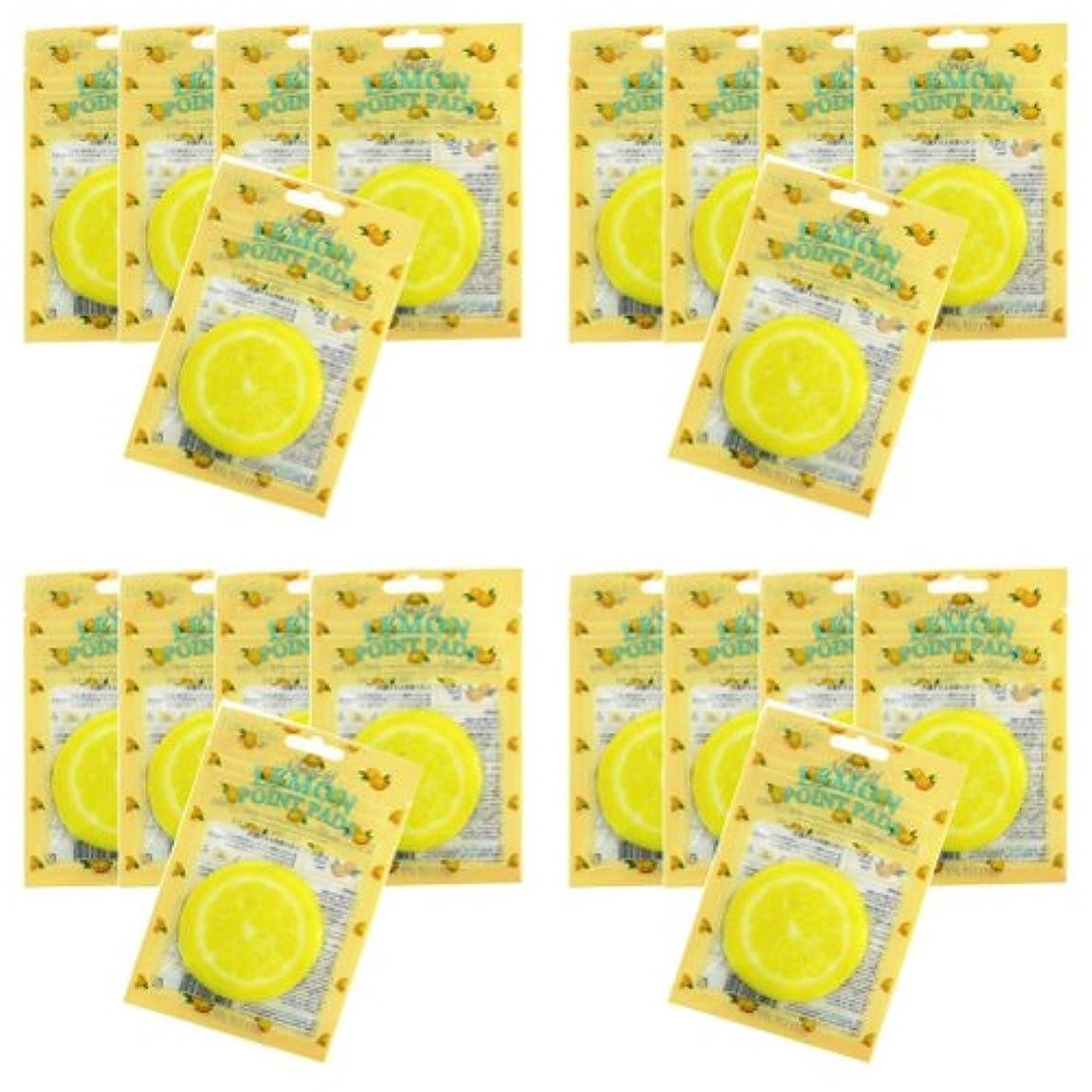 踊り子葉っぱ独特のピュアスマイル ジューシーポイントパッド レモン20パックセット(1パック10枚入 合計200枚)