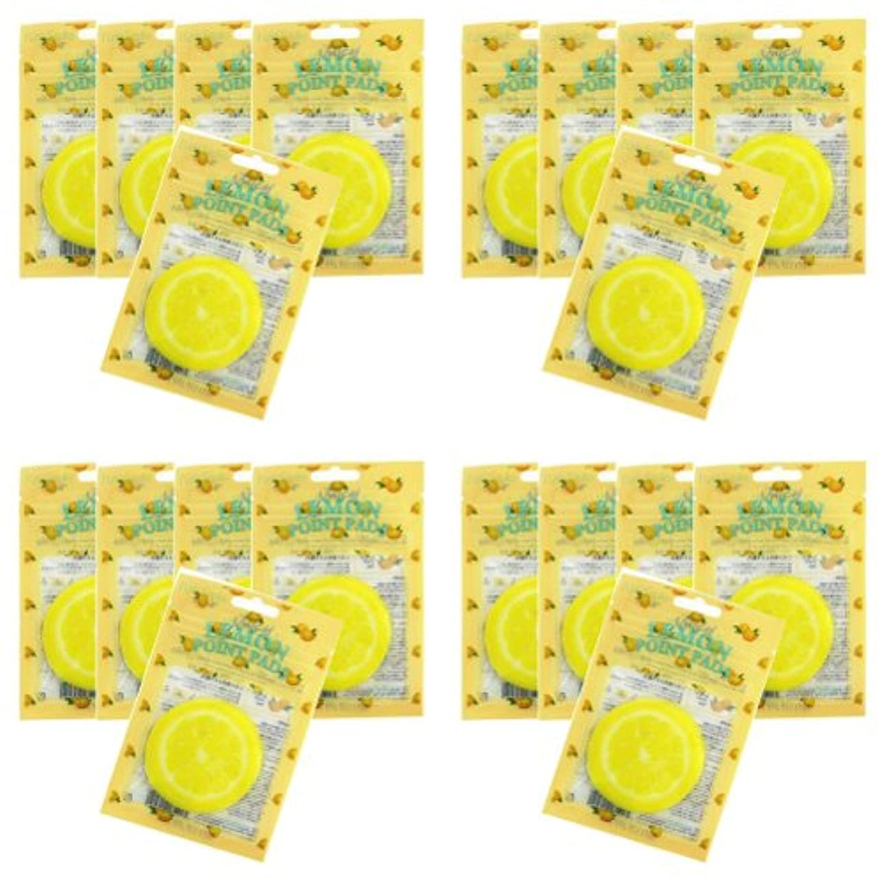 足音分子撃退するピュアスマイル ジューシーポイントパッド レモン20パックセット(1パック10枚入 合計200枚)