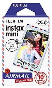 FUJIFILM インスタントカメラ チェキ用フィルム 10枚入 絵柄 (エアメール) INSTAX MINI AIRMAIL1