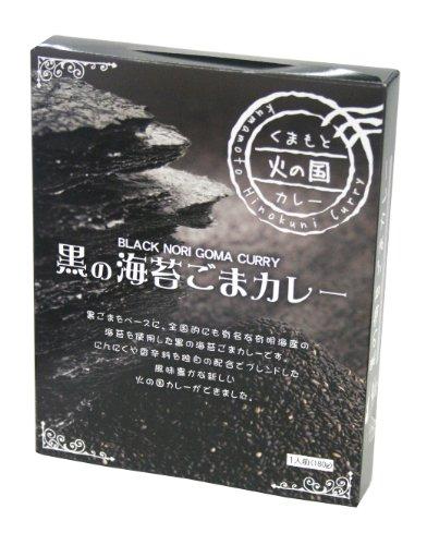 イケダ食品 黒の海苔ごまカレー 180g