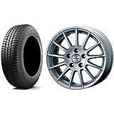 【輸入車 BMW 3シリーズ (4シリーズ)】 スタッドレスタイヤ・ホイール 1本セット 17インチ MICHELIN(ミシュラン) X-ICE XI3 ZP(ランフラット) 225/50R17 98H + アーヴィンF01 HSL(シルバー)