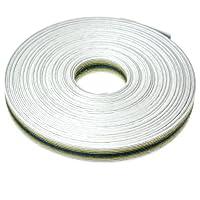 手芸用エコクラフトテープ おぼろ月 50m巻 幅15mm 12芯