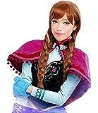 アナと雪の女王 アナ 耐熱ウィッグ コスチューム用小物