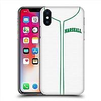 MARSHALL UNIVERSITY マーシャル大学 - Baseball Jersey ハード case/iPhoneケース 【公式/オフィシャル】