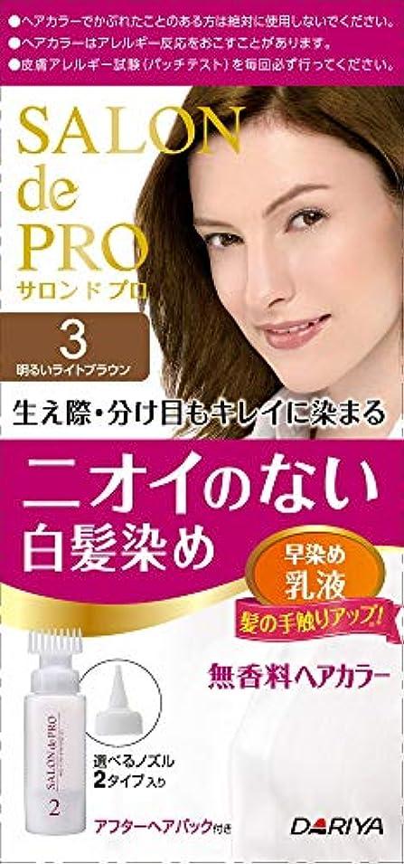 くびれた犠牲小売ダリヤ サロンドプロ無香料カラー乳液3 3 まとめ買い(×3)