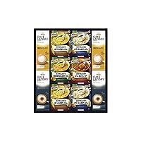 味の素 「クノールR」スープ&コーヒーギフト 【インスタント おいしい かんたん 健康 詰め合わせ つめあわせ あじのもと くのーる すーぷ かふぇらて かぷちーの 日本製 国産 リラックス 休憩 ランチ ティータイム 3000】