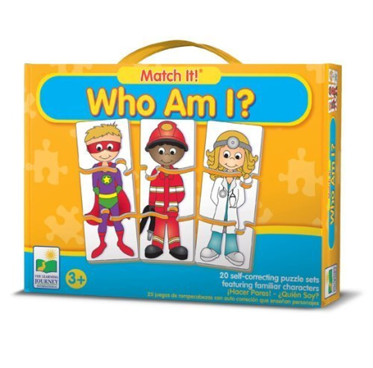 The Learning Journey Match It! Who Am I? by The Learning Journey International [並行輸入品]