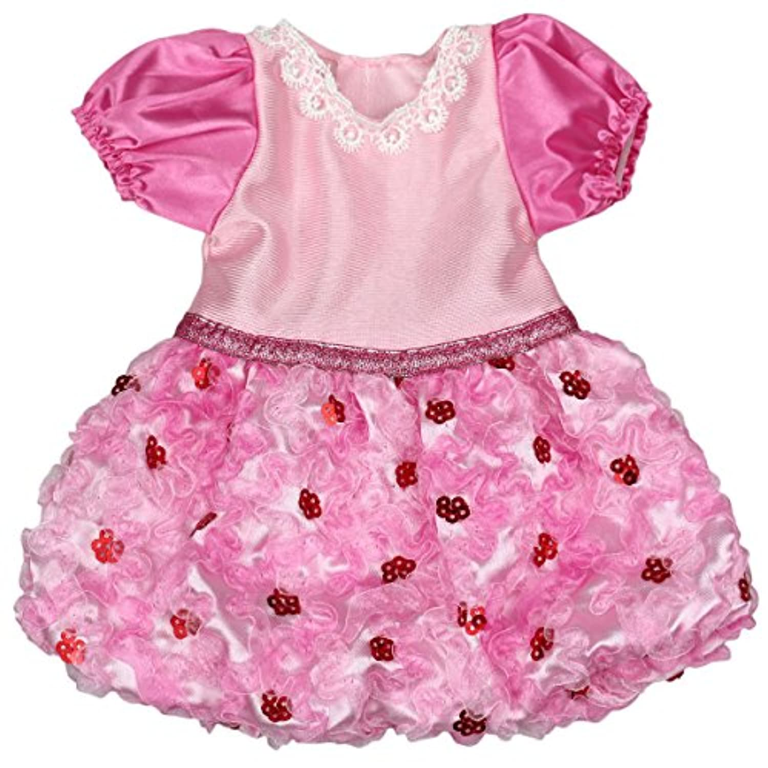AOFUL Baby Doll Pink Dress for 18