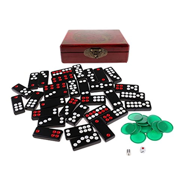 sharprepublic 中国パイガオ パイゴウ 牌九 カジノおもちゃ 楽しいおもちゃ パーティー