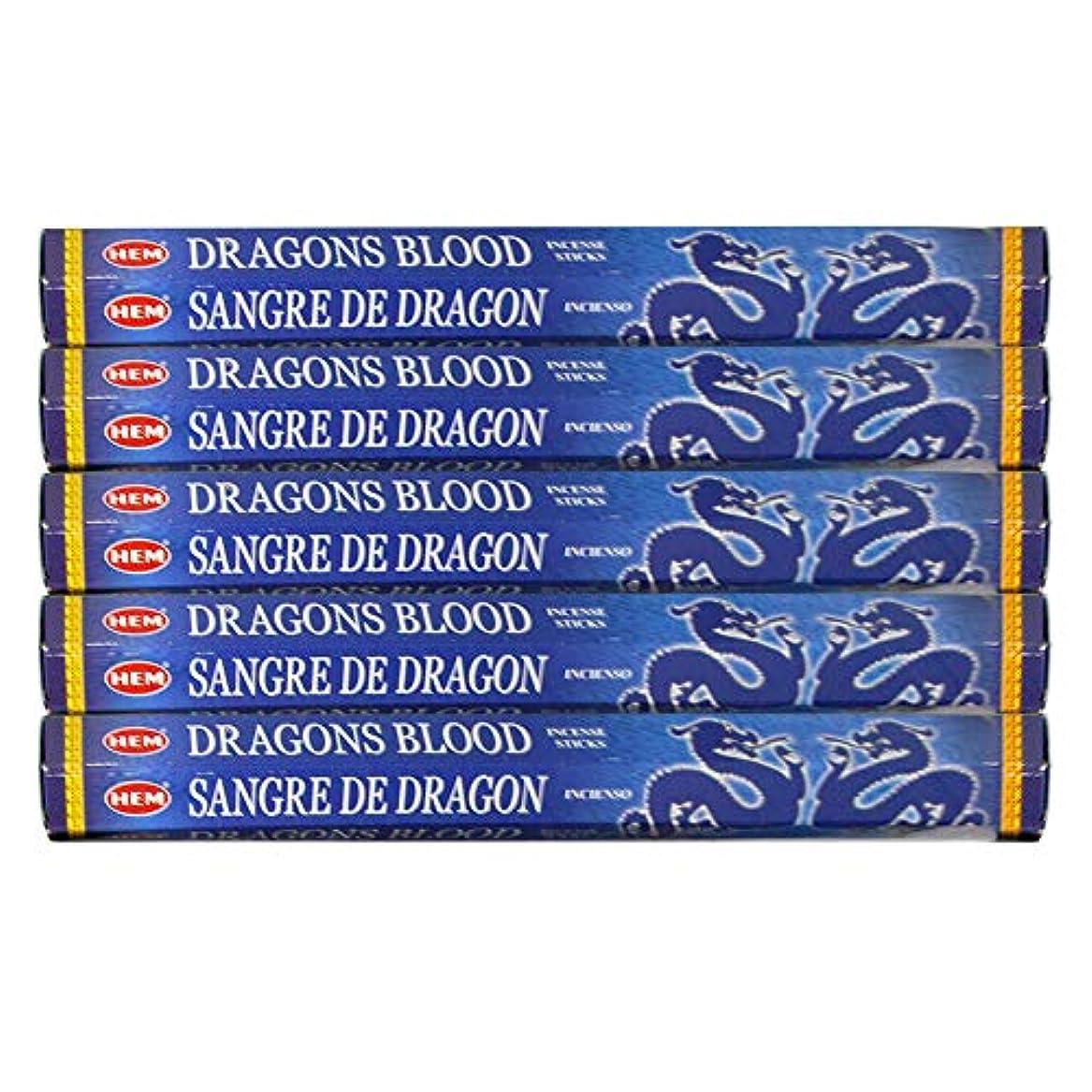 読書をするスピリチュアル花輪ドラゴンの血ブルー 線香100本(20本×5パック)