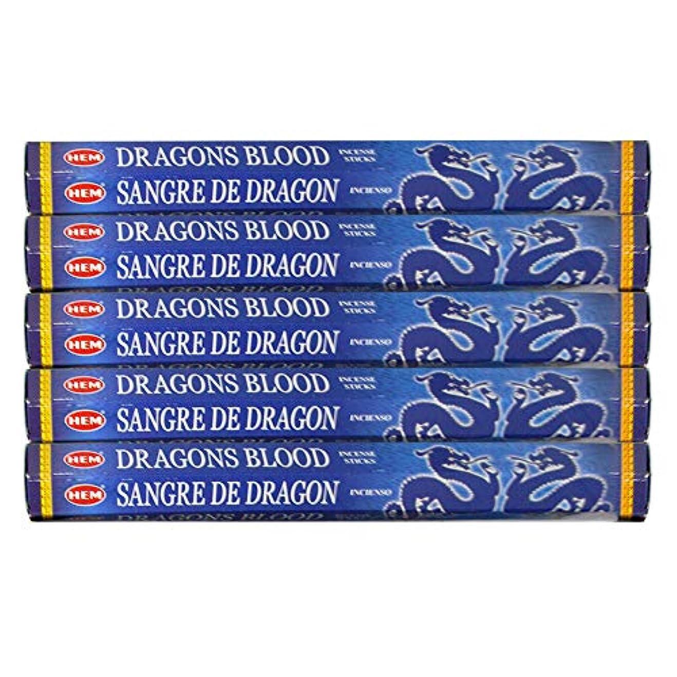 ドラゴンの血ブルー 線香100本(20本×5パック)