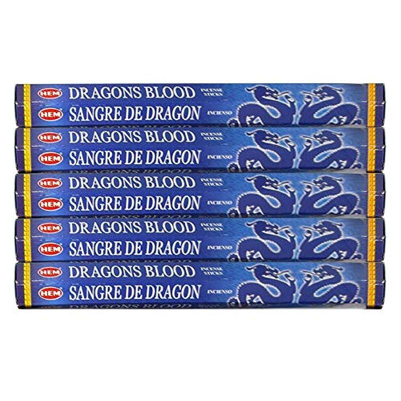 アセンブリウェイトレスリスナードラゴンの血ブルー 線香100本(20本×5パック)