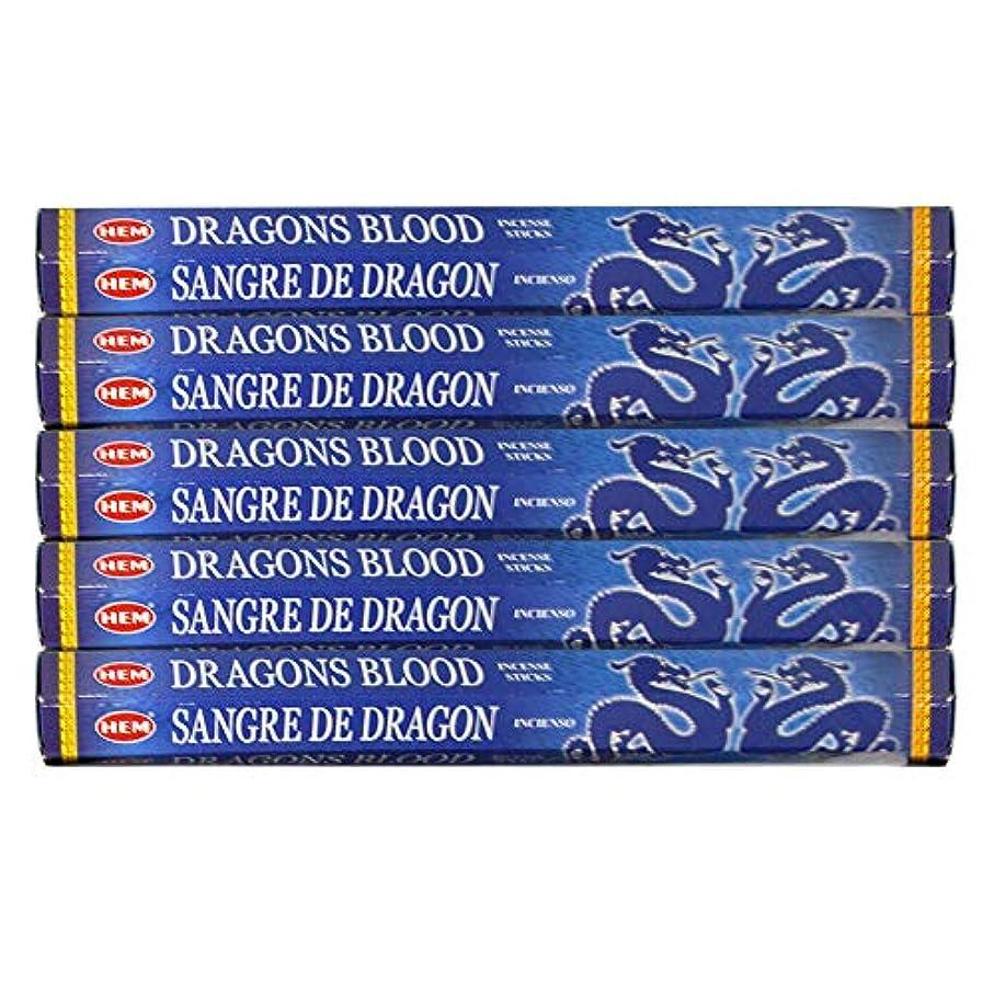 ドライバビデオ啓発するドラゴンの血ブルー 線香100本(20本×5パック)