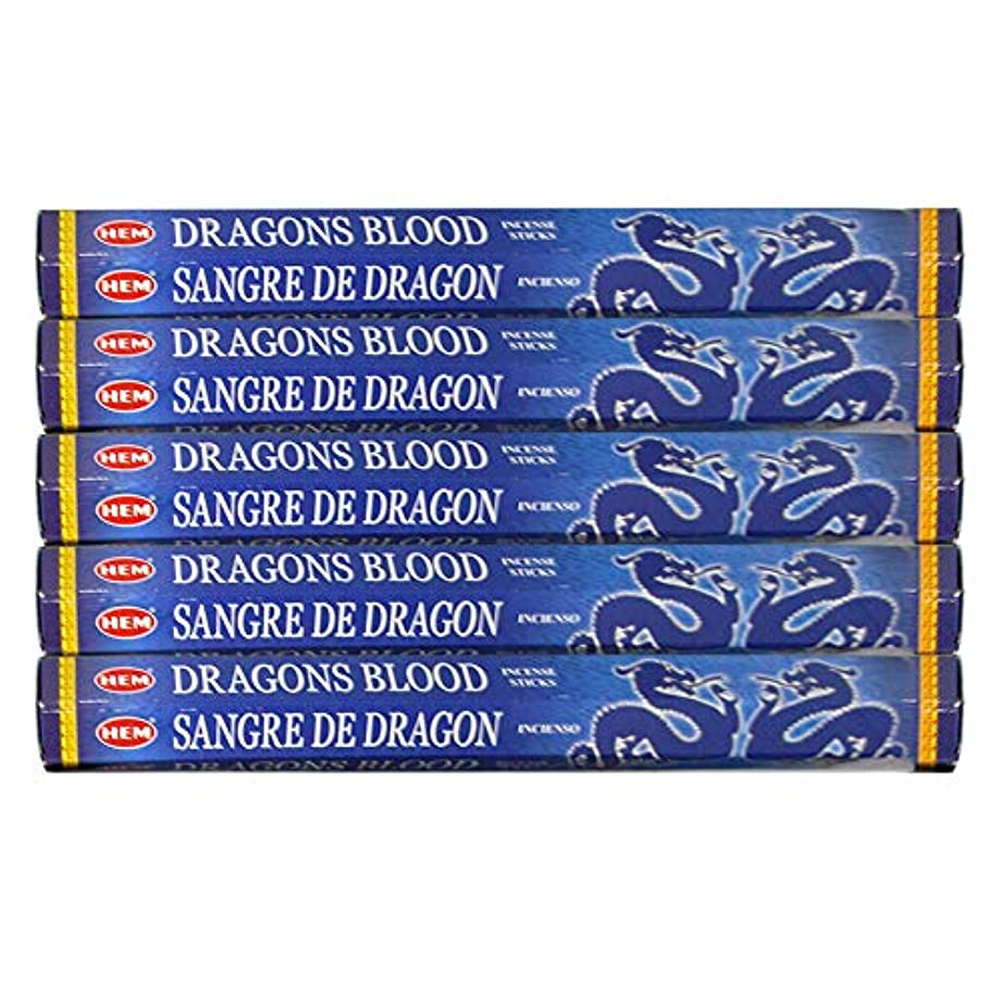 ジョリー活性化するメルボルンドラゴンの血ブルー 線香100本(20本×5パック)