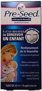 Pre-seed Fertility Friendly Personal Lubricant with Applicators, 40g by Aurium Pharma Inc [並行輸入品]