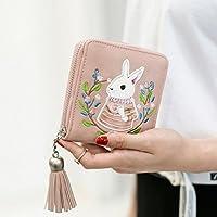 WensLTD Hotsale 。かわいい財布クラッチ財布短い小さなバッグPUカードホルダー One Size