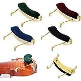 sharprepublic 1/2 バイオリン肩当て フレームレスト 人間工学 楽器パーツ アクセサリー ダークグリーン
