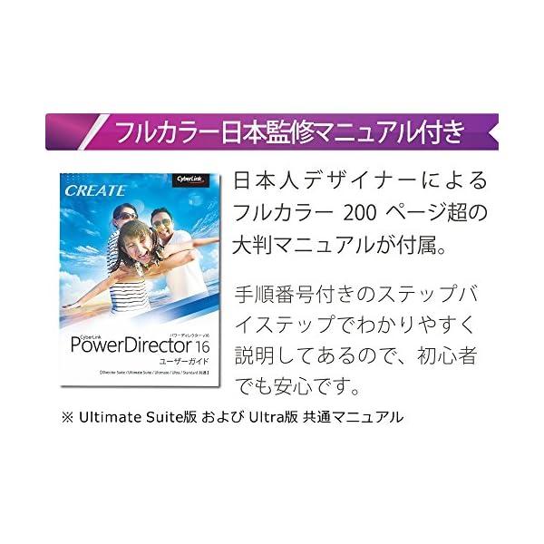サイバーリンク PowerDirector 1...の紹介画像2