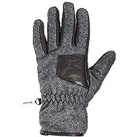 メンズZanier Hallstatt冬手袋(グレーブラック) (Mサイズ)