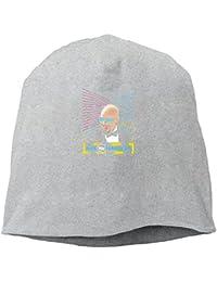 【Dera Princess】ユニセックス ニット帽 Max Heisenbergロゴ コットン ニットキャップ 帽子 オールシーズン 被れる