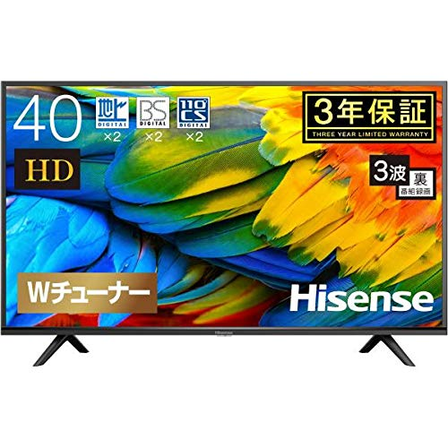 Hisense 40V型地上・BS・110度CSデジタルフルハイビジョンLED液晶テレビ B07WT14P8W 1枚目