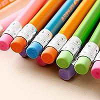 MYGOODLUCK ペン 10個単色ログHb鉛筆筆