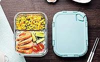 1040MLフードフラスコランチ付きの大人と子供用の食べ物や飲み物用のスプーン付き大容量真空ランチボ
