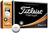 TITLEIST(タイトリスト) ゴルフボール Pro V1 3ピース(ダブルナンバー) 12個入り ホワイト T2025S-LEJ