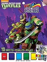 Savvi Teenage Mutant Ninja Turtles Magic Paint Poster Book [並行輸入品]