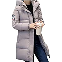 Misaky Women's Down Long Jacket Puffer Thicker Winter Parka Coat Overcoat
