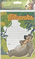 Jungle Book Pack Of 20 Thank You Sheets With Envelopes