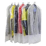 洋服カバー 衣類カバー 12枚 安心の日本製 大切な衣類のほこりよけに