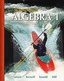 Algebra 1, Grade 9: Mcdougal Littell High School Math (McDougal Littell Algebra 1)