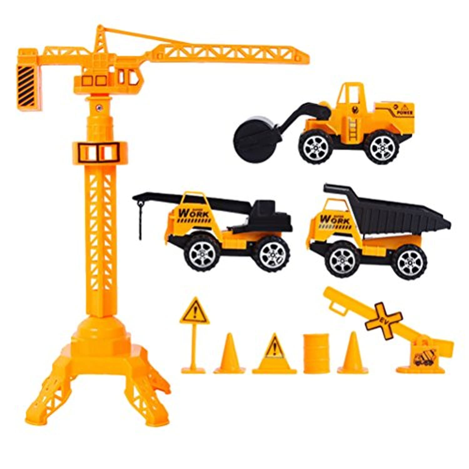 Zhhlinyuan ベスト Full Back Cars Mini Team Force Children Kids Track Model Playsets Toys Supplies 誕生日プレゼント for Boys