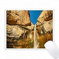 アメリカ合衆国、ユタ州。グランド階段エスカランテの下カーフクリーク滝。 PC Mouse Pad パソコン マウスパッド