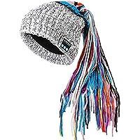 ワイヤレス音楽ブルートゥースハット長い毛のキャップ汚れた帽子とベルベットヨーロッパとアメリカの手織り