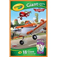 Crayola Disney Planes Giant Colouring Pages