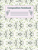 Composition Notebook: Wide Ruled Notebooks Paper - Composition Notebook (Diary, Journal) 8.5x11in 100 Pages Wide Ruled Notebooks Paper