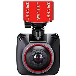 BC Master ドライブレコーダー 1080P ドラレコ FHD 2インチLCD 170°広角 常時録画 動体検知 Gセンサー 暗視 ループ録音 機能搭載 カーチャージャー 充電器付き