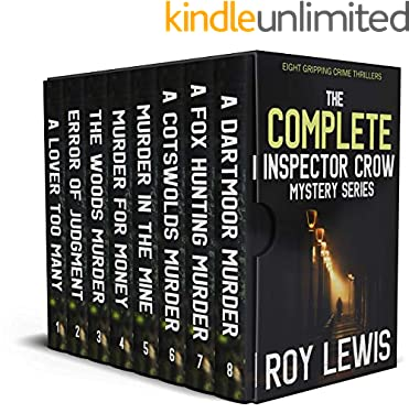 THE COMPLETE INSPECTOR CROW MYSTERY SERIES eight gripping crime thrillers box set