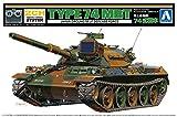 青島文化教材社 リモコンプラモデルシリーズ No.3 陸上自衛隊 74式戦車 プラモデル