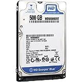 WESTERN DIGITAL 2.5インチ内蔵HDD Serial-ATA 5400rpm 500GB 8MB WD5000BEVT